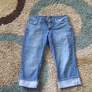 Lucky cropped jeans